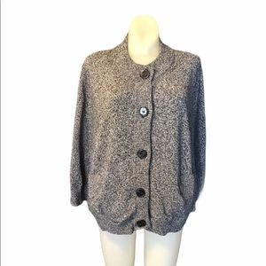 Jones New York Collection Button Front Cardigan